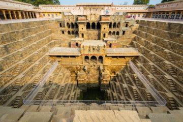 Jaipur Guia de viaje Abhaneri Chand Baori