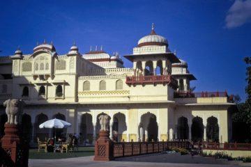 Jaipur Guia de viaje Palacio de Rambagh