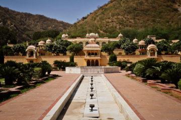 Jaipur guia de viaje Sisodia Rani Palace Garden
