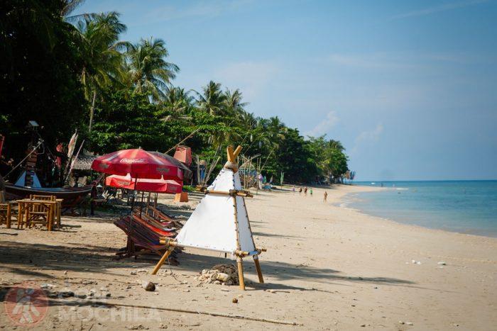 Guia Koh Lanta playa Phra Ae