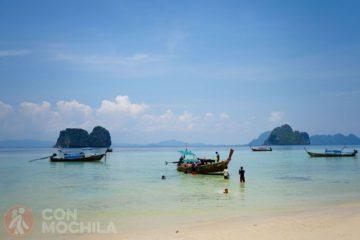 Guia Koh Lanta Lanta Excursion cuatro islas