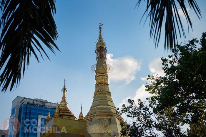 Otro detalle de la Sule Pagoda