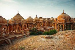 Jaisalmer Guia de viaje Cenotapios Bada Bagh