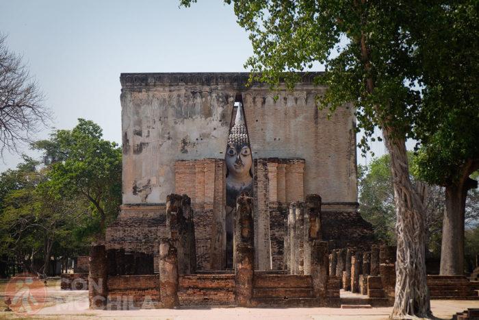 La figura de Buda desde dentro