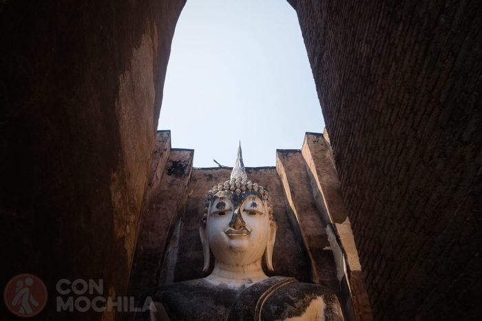 Detalle del Buda
