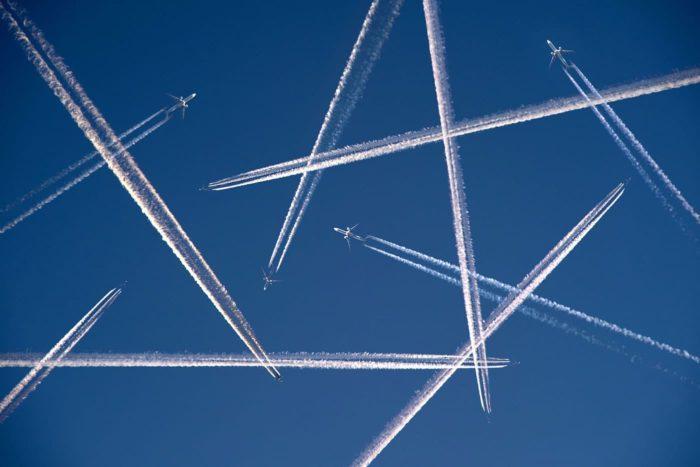 El CO2 y los aviones... Huella de carbono