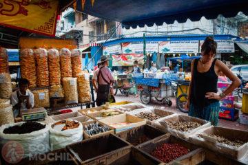El barrio de Chinatown de Bangkok