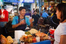 La comida callejera de Bangkok