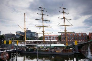 Barco restaurante Bremen