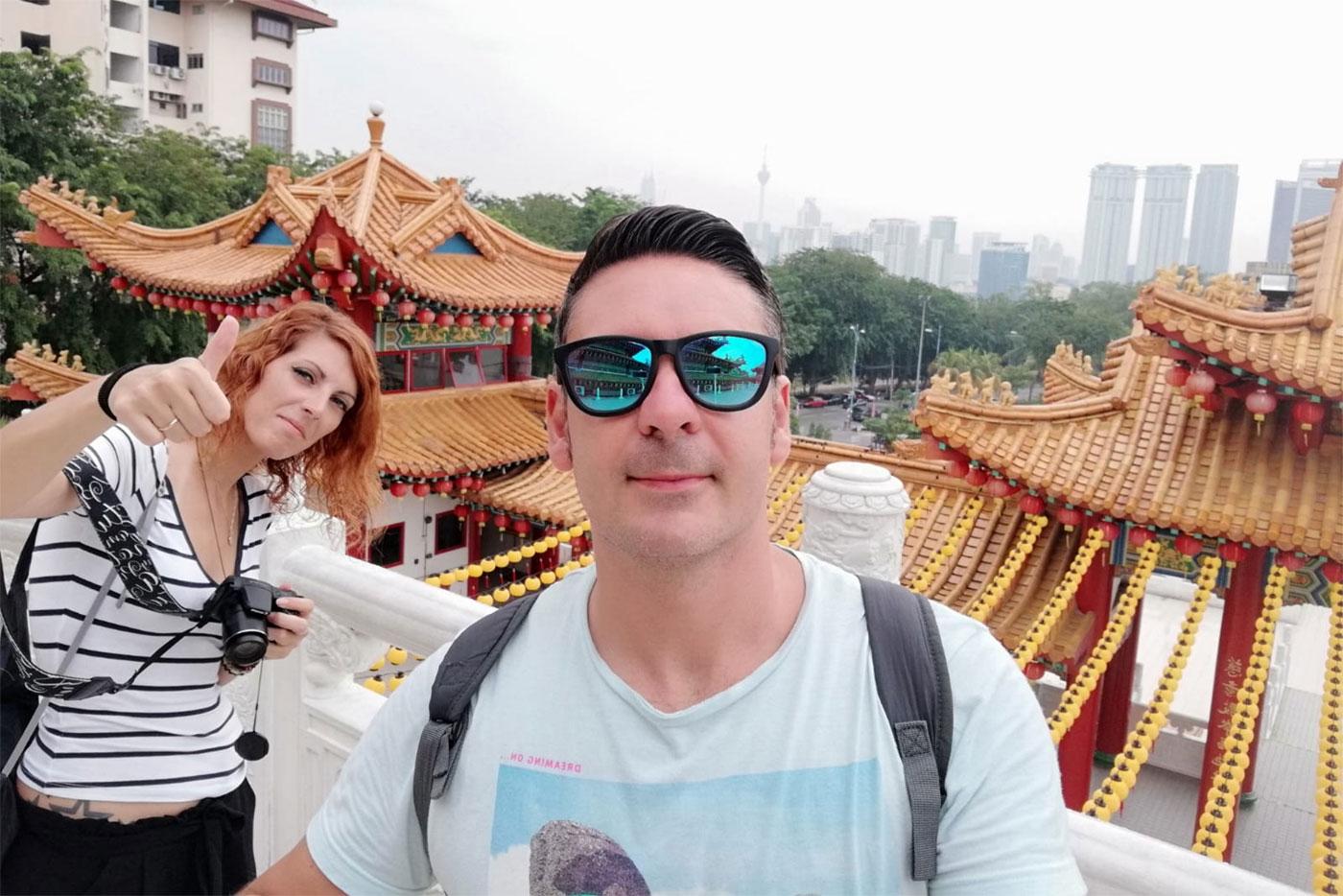 Itinerario de viaje a Malasia y Singapur en 16 días de Marina y Toni