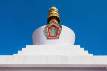 Do Drul Chorten o estupa