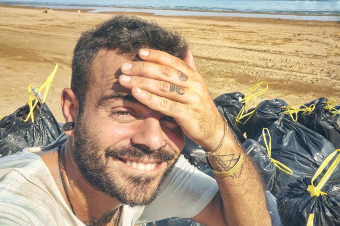 Día de recogida en el mar de Galilea