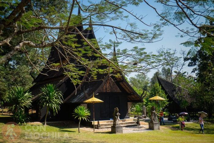 La casa negra de Chiang Rai