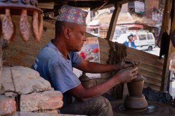 Cerámica y artesanía en Bhaktapur