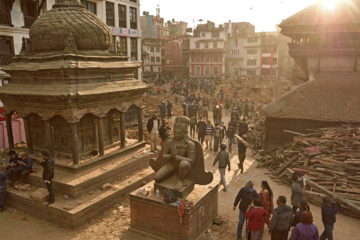 terremoto abril de 2015 en Katmandu