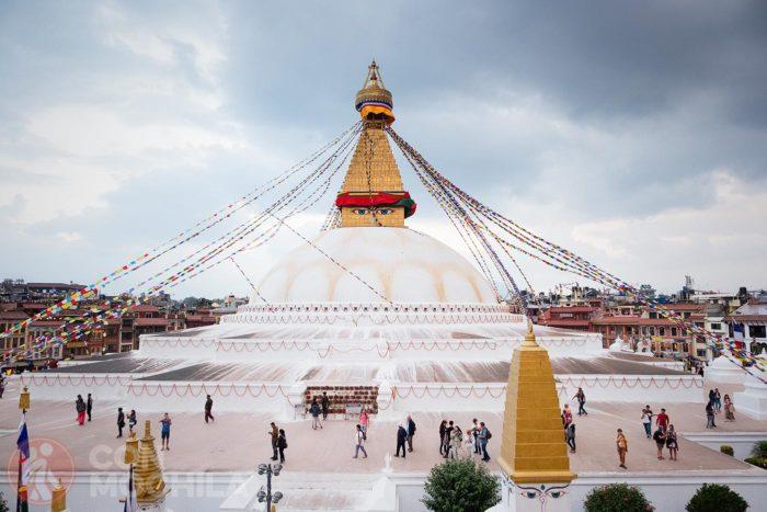 Boudhanath Stupa Katmandu-01