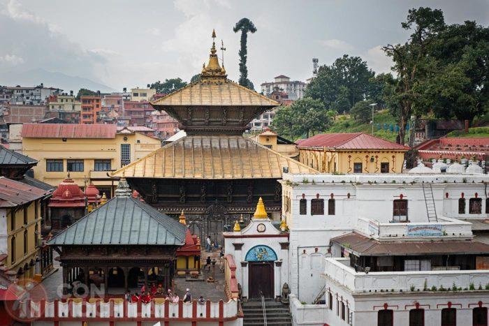 Detalle del templo Pashupatinath