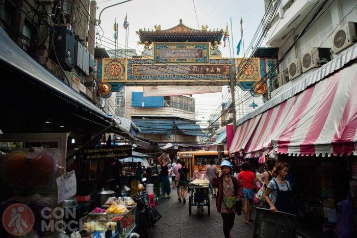 Bienvenido a Chinatown de Bangkok