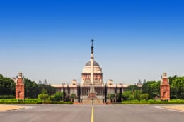 GUIA DELHI Rajpath Boulevard