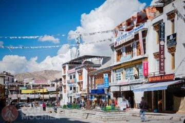 Main bazar Leh (market)