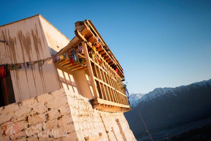 Los balcones de madera