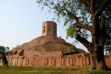 GUIA DE VIAJE VARANASI Chaukhandi Stupa