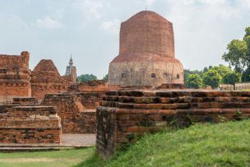 GUIA DE VIAJE VARANASI Dhamek Stupa