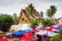 Mercado nocturno de Vientiane