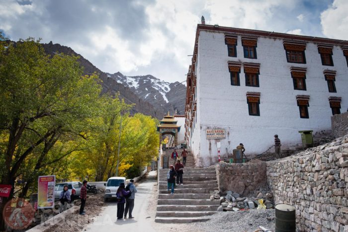 Vistas desde Hemis Monastery