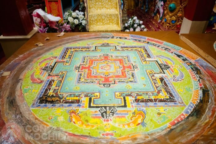 Mandala de arena tibetanos