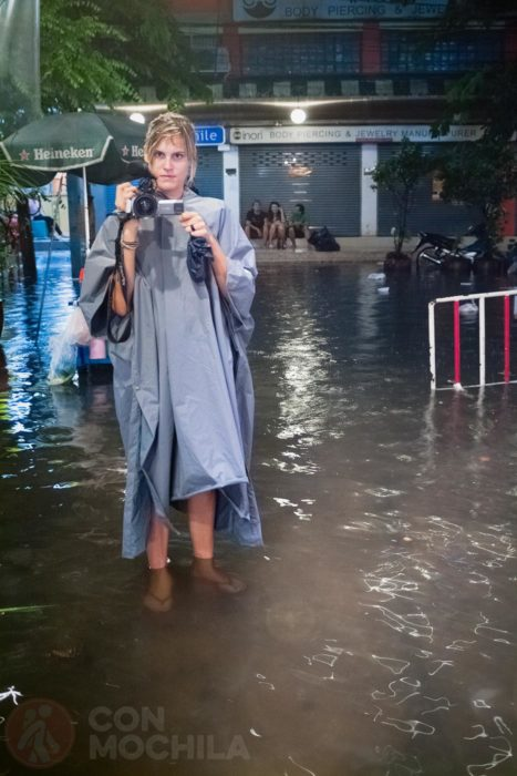 Parece que llueve en Bangkok...