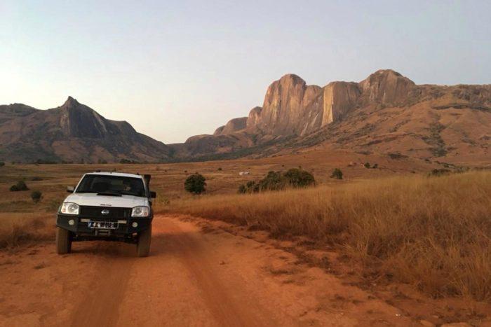 El 4x4 que nos acompaño en toda la aventura en Madagascar