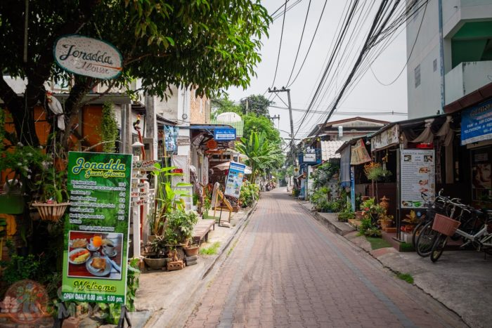 Otra calle de Chiang Mai