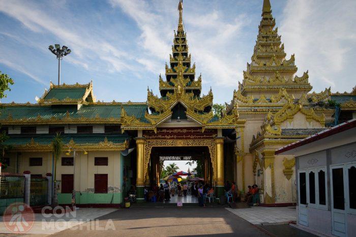 Entrada al recinto del templo