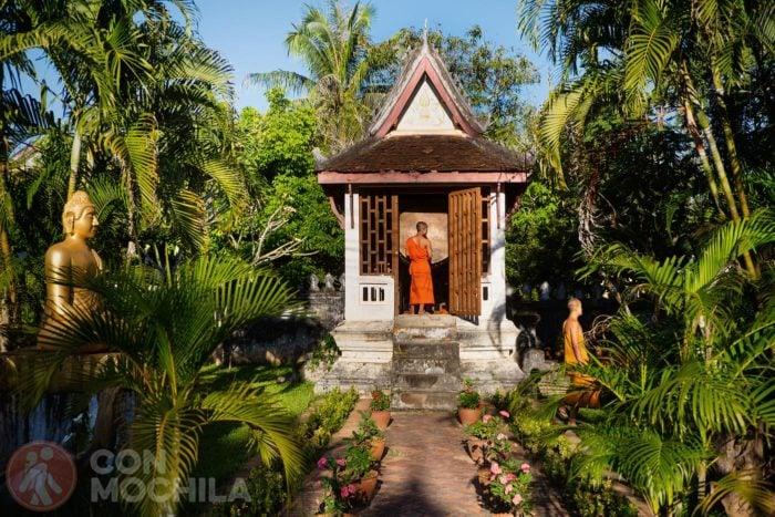 Monjes en Luang Prabang