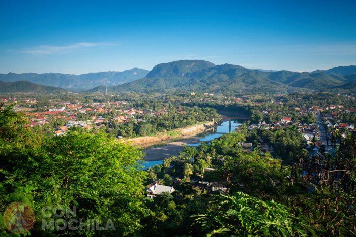 Vistas desde el Monte Phousi