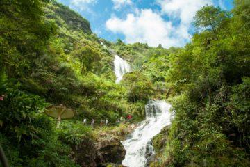 Thac Bac Silver waterfall en Sapa