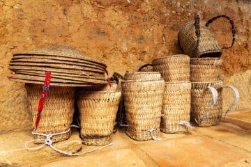Cestas tradicionales de las etnias de Sapa