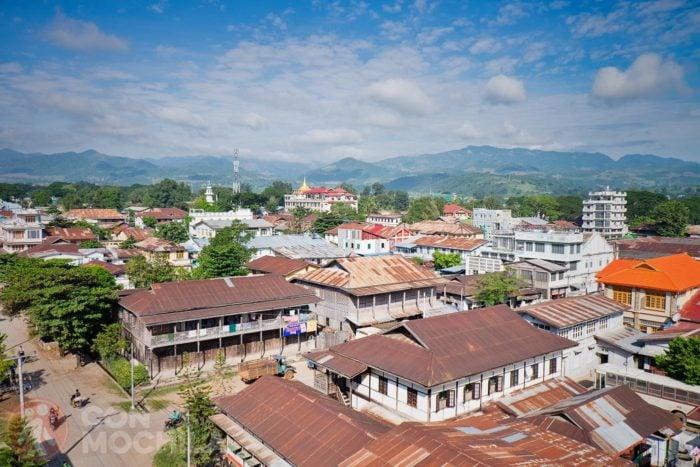Vistas de Hsipaw