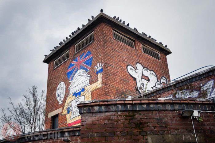 Graffitis por doquier