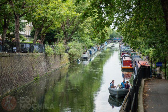 Regent's Canal de Londres