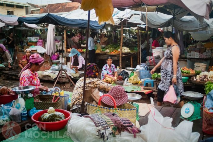Mercado de Kompong Cham