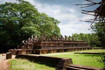 Sala del consejo del rey Parakramabahu