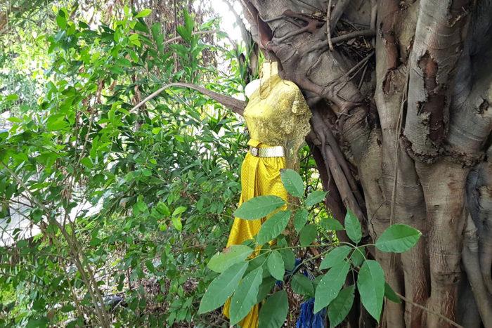 vestido novia bosque Tailandia