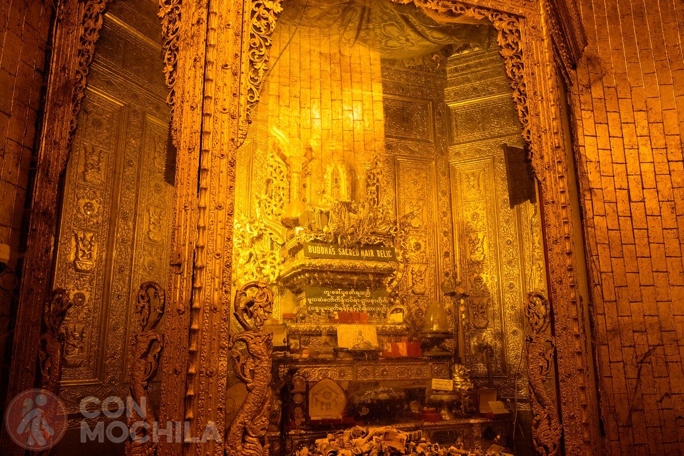 La reliquia de la pagoda: el cabello sagrado de Buda