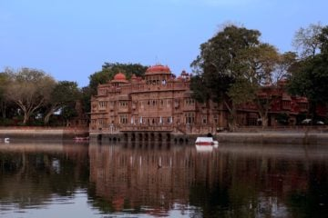 Gajner Palace and Lake