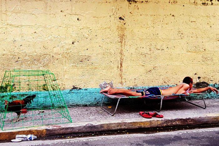 Filipinas hombre calle