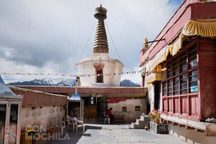 La estupa principal del monasterio Shey