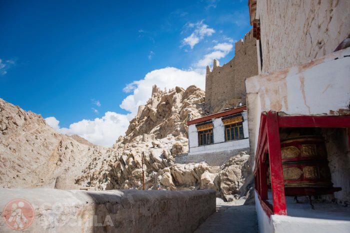 Vistas de las ruinas desde el monasterio