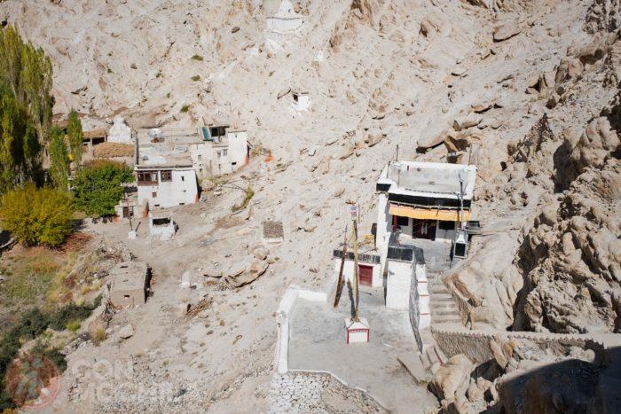 Vistas desde el monasterio